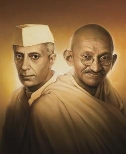 Neharu Gandhiji