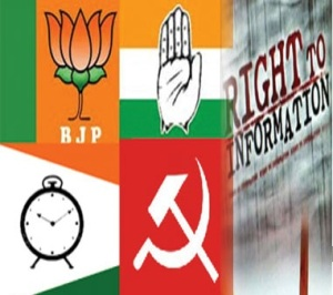 RTI Political parties