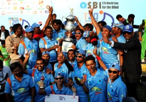 Indian blind cricket team wins world cup